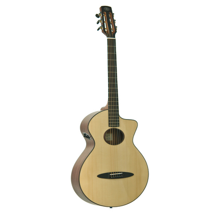 Ozark Steel String Acoustic Guitar, solid cedar top
