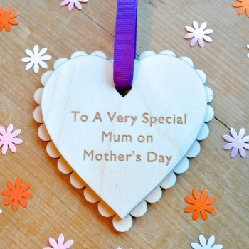 Special Message Mother's Day Heart