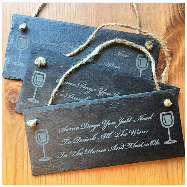Personalised Custom Design Slate Signs