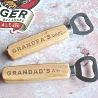 Personalised Grandpa's Beer Bottle Opener