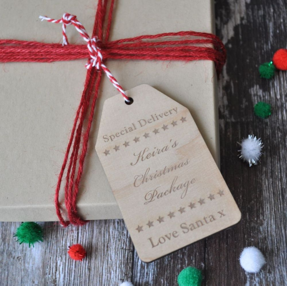 Personalised Special Delivery Gift Tag