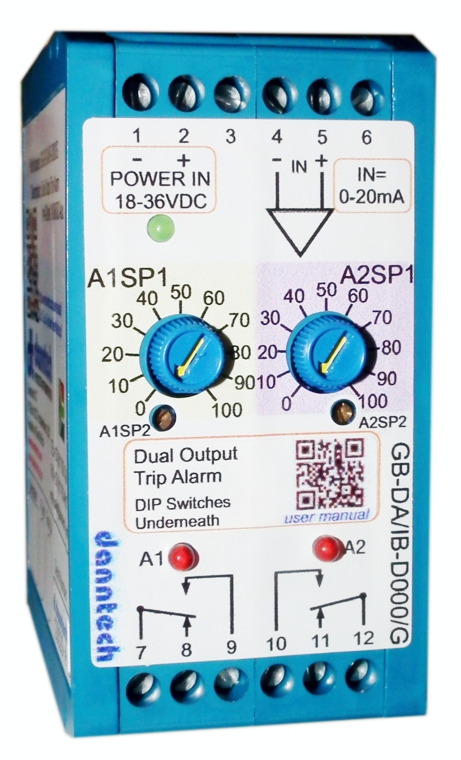 Dual Output Trip Alarm