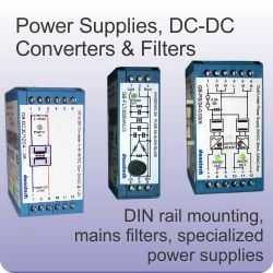 Power Supplies, DC-DC Converters & Filters