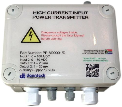 High Current Input Power Transmitter