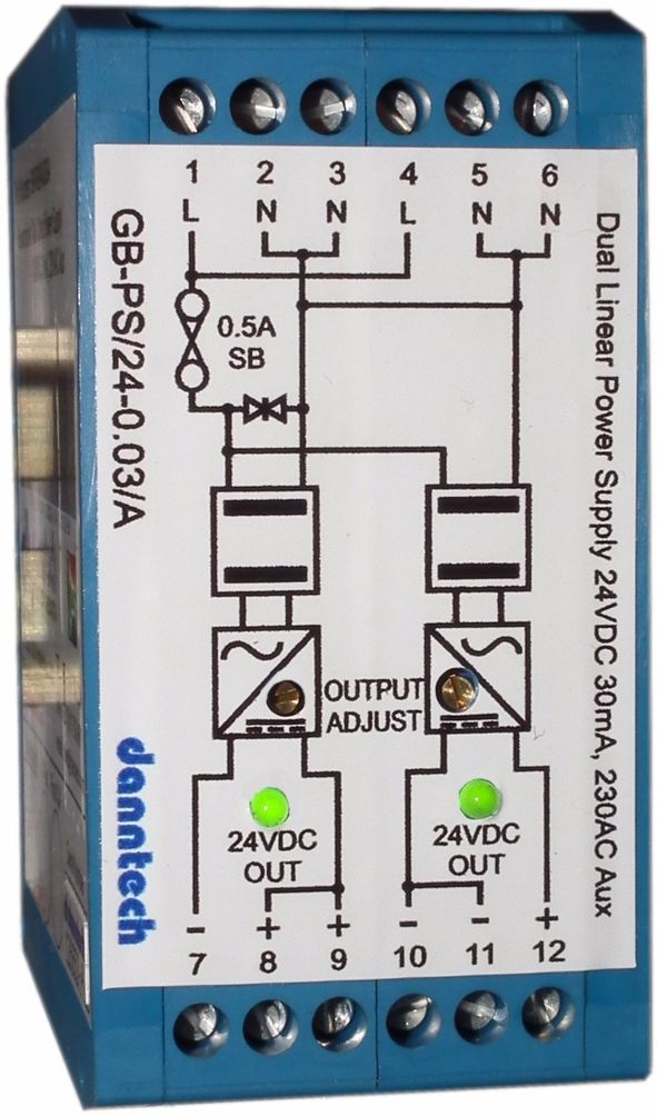 Dual Linear DC Power Supply