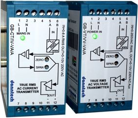 Current/Voltage Transmitters RMS