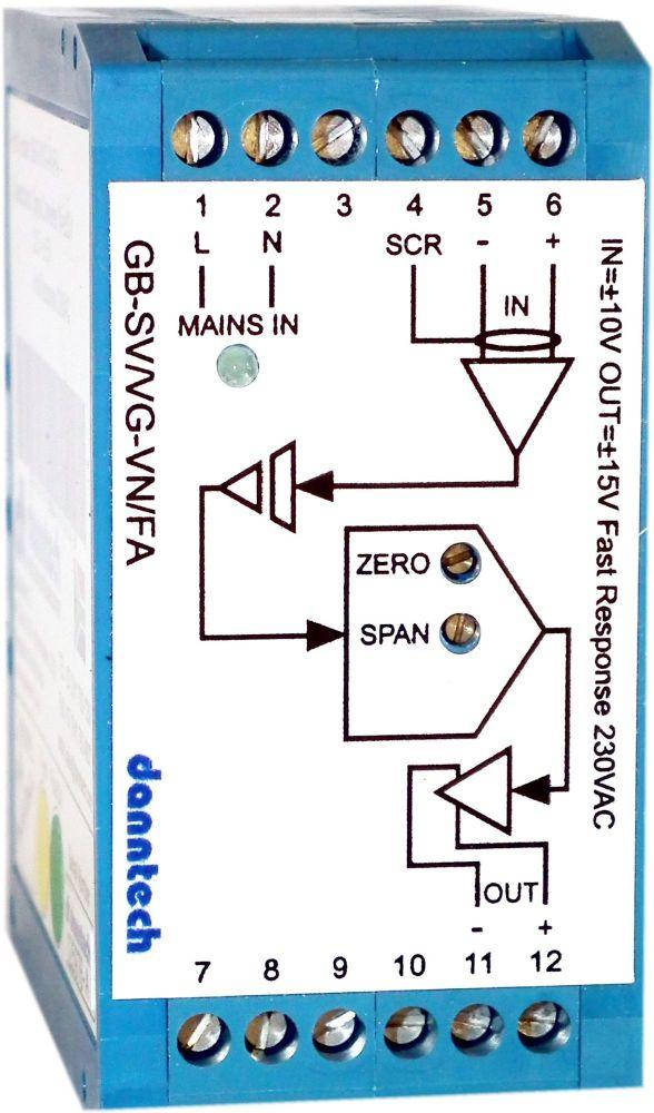 High Voltage Output Signal Converter