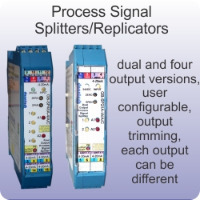 Process Signal Splitters/Replicators.