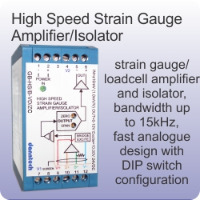 Loadcell & Strain Gauge Amplifiers/Isolators
