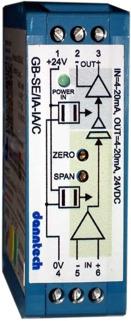 Eco-Line Signal Converter 4-20mA to 4-20mA 24VDC Aux