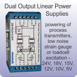 dual output linear power supplies
