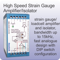 high speed strain gauge amplifier_isolator