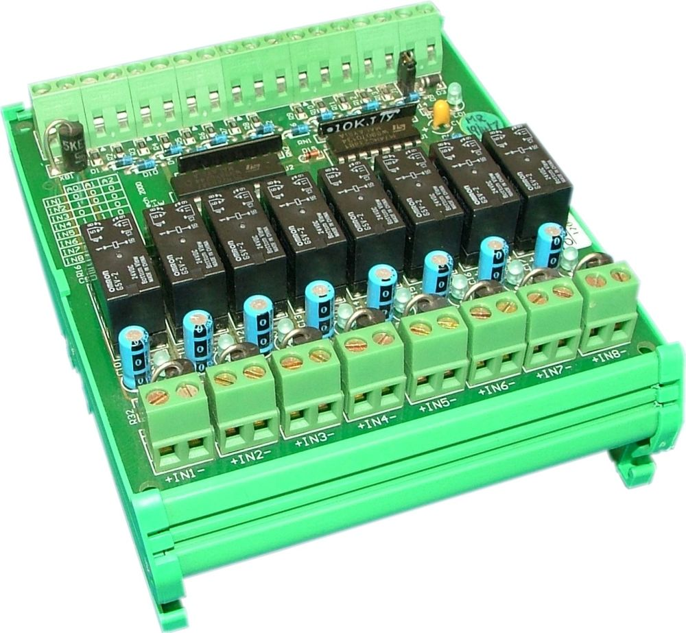 Process Signal Multiplexer Switches Low This Disables The Relay And Enables Analog Switch