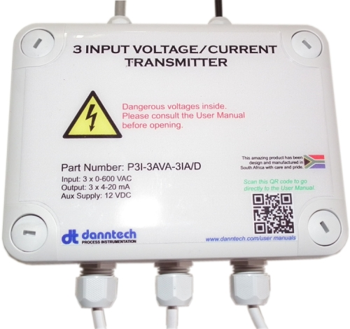 3 Input Voltage/Current Transmitter (3IVCT)