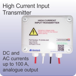 high current input transmitter