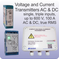voltage and current transmitters