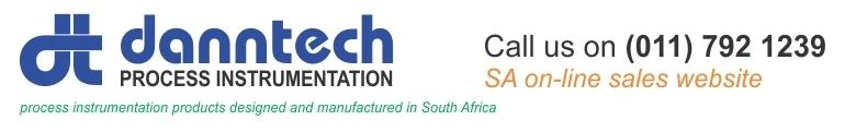Danntech SA - Process Instrumentation, site logo.
