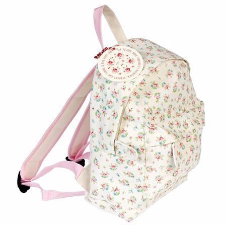 Personalised Floral mini backpack