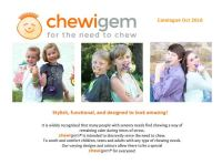 chewigem catalogue front cover