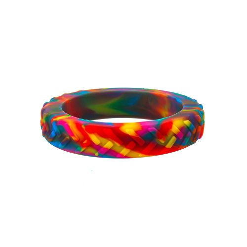 Tread Bangle - Rainbow