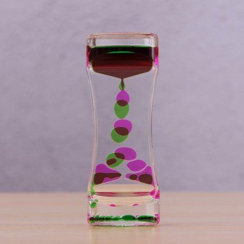 Liquid Motion - pink/green
