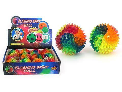 Spiky Flashing Ball - 75mm