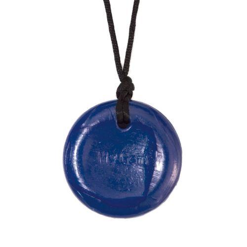 Button H - Navy blue