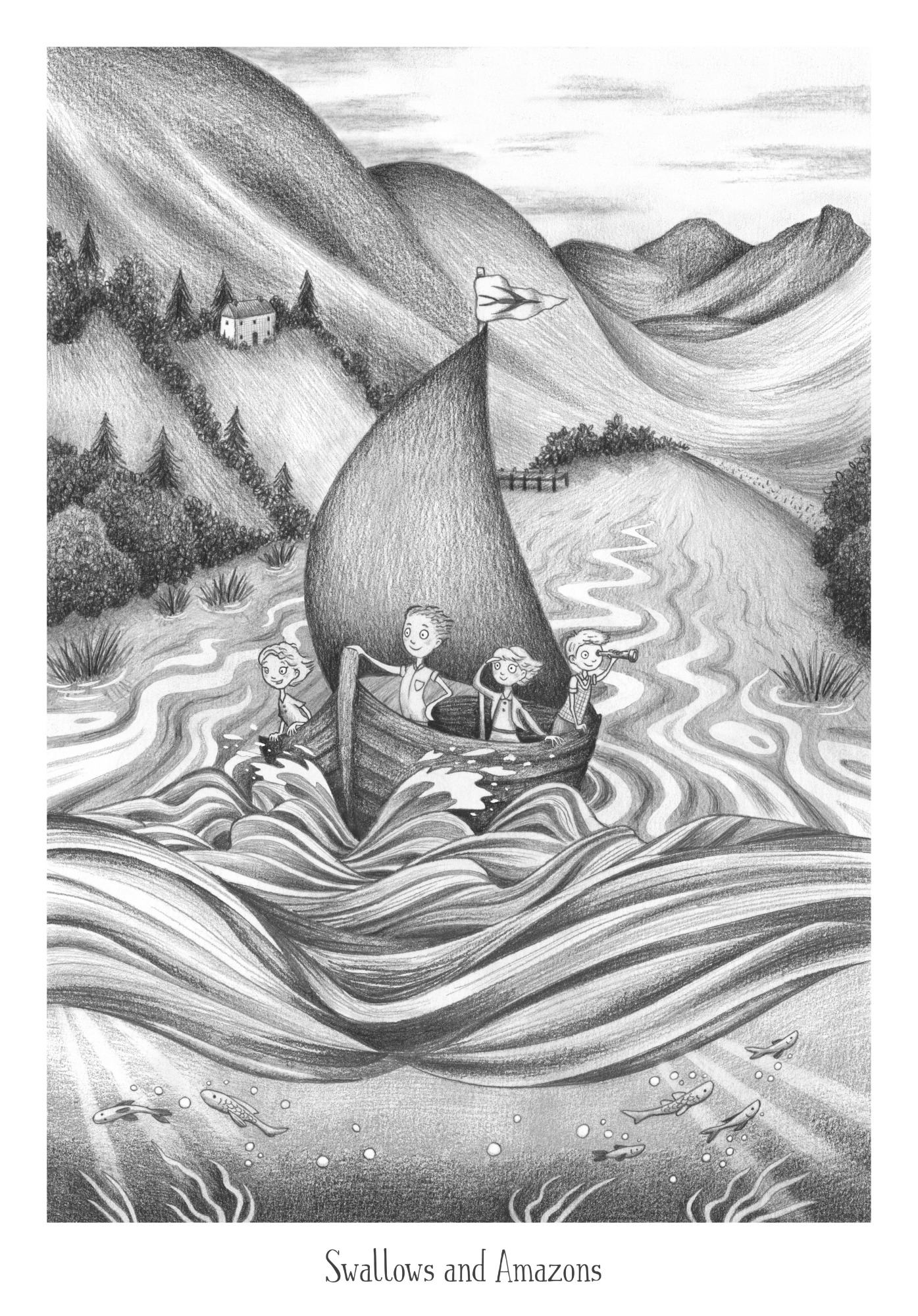 Swallows and Amazons illustration