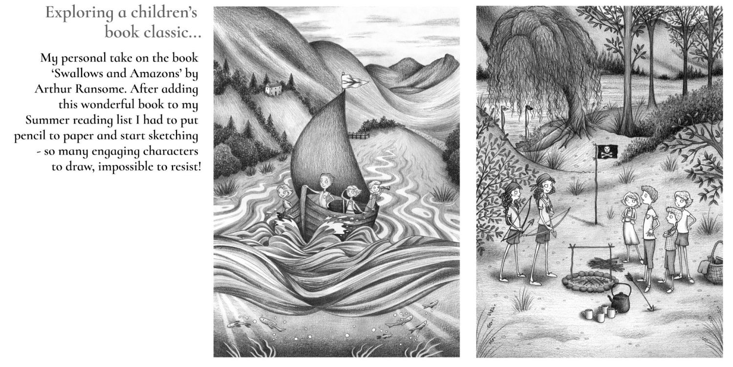 Swallows and Amazons home page