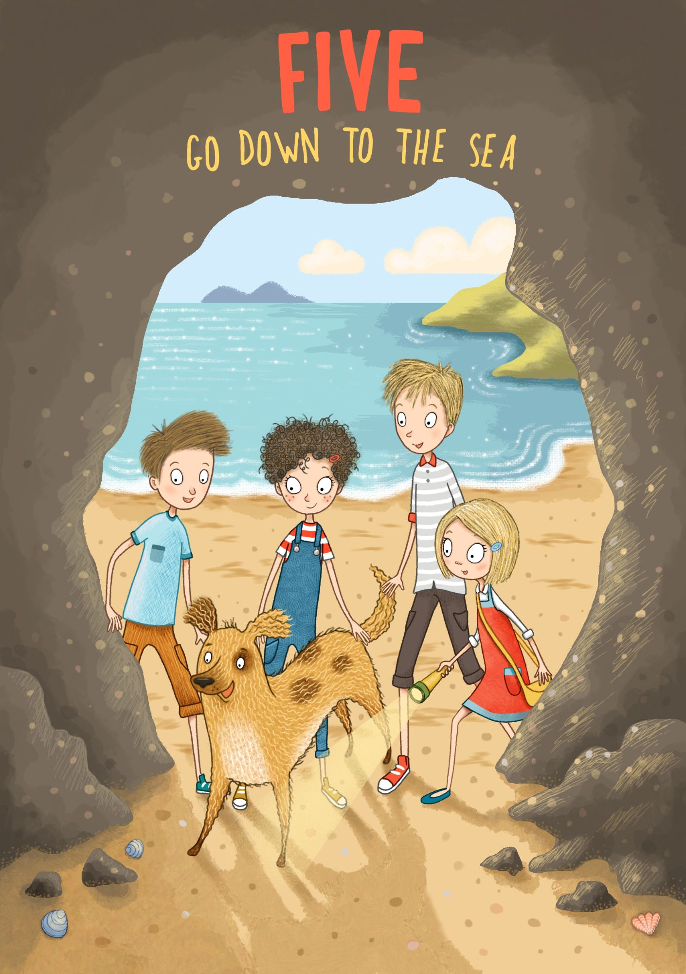 Famous Five Illustration by Emma Allen