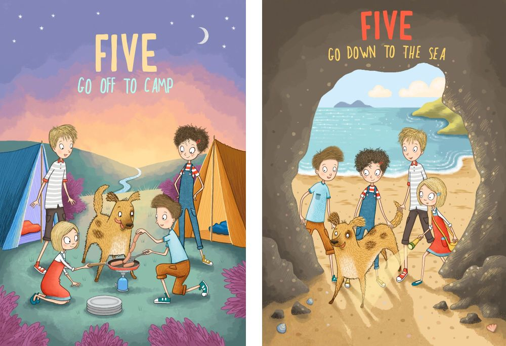 Famous Five Covers