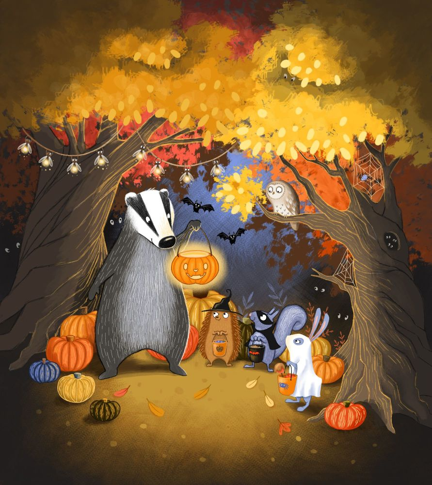 Halloween for Badger and Friends