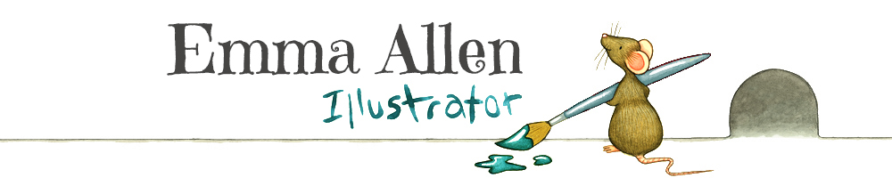 Emma Allen Illustrator, site logo.