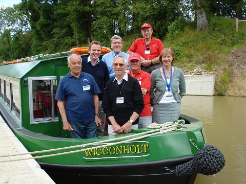Wiggonholt boat Wey and Arun Canal