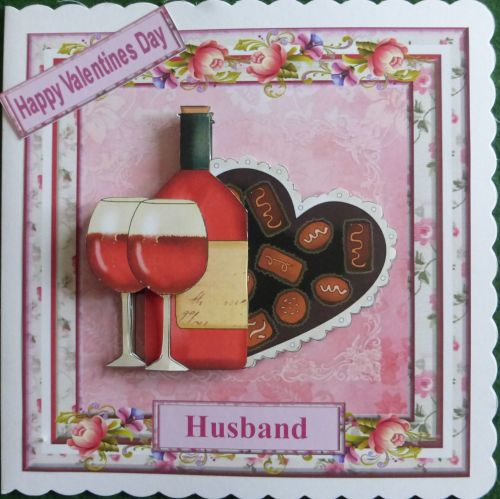 Valentine card for Husband/Wife/Partner