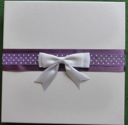 Greeting Card Presentation Box