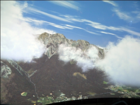 taking off from innsbruck flight simulator