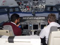 customer about to push back airavana flight simulator