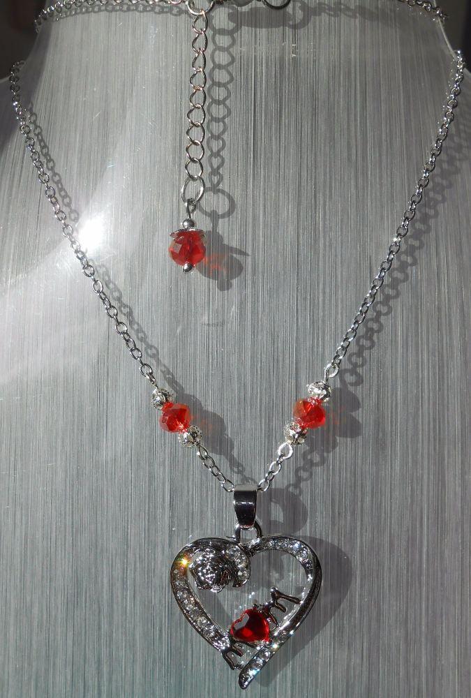 Mum Heart Necklace