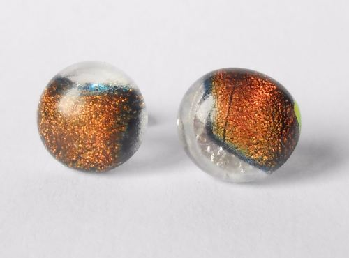 Glitter Glass Earrings