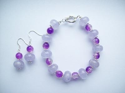 Purple quartz Set