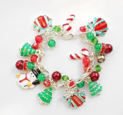 Christmas Charm Bracelet(Child's)