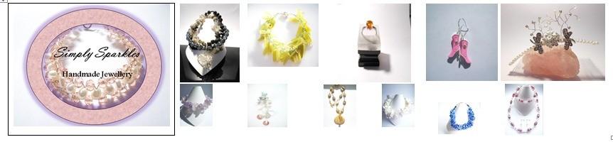 simply Sparkles Jewellery, site logo.