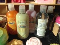 Shower Gels, Bubble Baths & Body Lotions