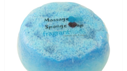 WHITE MUSK MASSAGE SPONGE