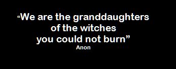 Witches Quote sistersofthemoon.org.uk