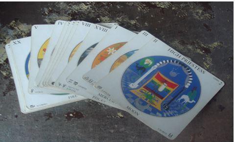 Mandala Tarot Deck sistersofthemoon.org.uk