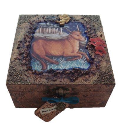 Taurus Zodiac Box BV2 sistersofthemoon.org.uk