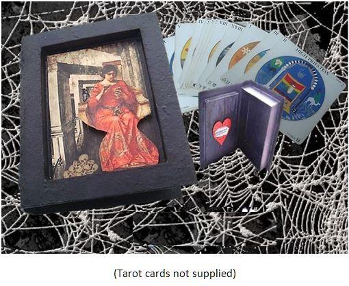 Lady of the Skulls Tarot Card Box sistersofthemoon.org.uk