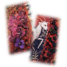 Capricorn Memory Box Embellishments sistersofthemoon.org.uk